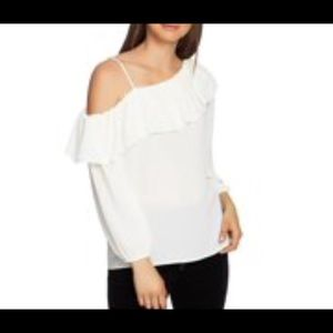 NWT 1. State Asymmetrical Long Sleeves Blouse
